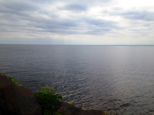 """Every drop is a scientific and spiritual miracle. Today Lake Superior joins two dear friends, Raffi Najarian and Steph White in a loving bond, bringing together the many """"drops"""" of their lives to create a wonder of depth. -July 19th, 2014"""